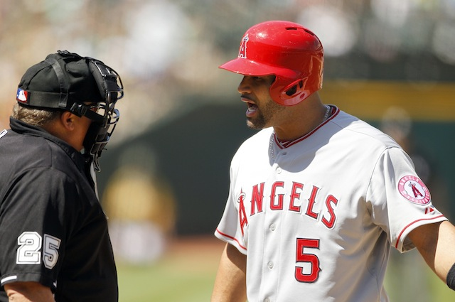 Lately, Albert Pujols has had plenty of reasons to be frustrated. (USATSI)