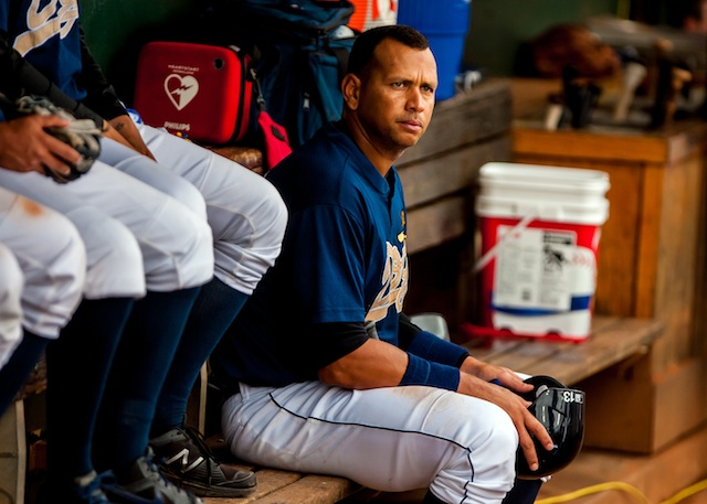 Alex Rodriguez, you see, is tired of wating. (USATSI)