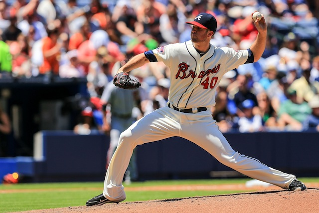 Alex Wood is one of six starters the Braves plan on using for now. (USATSI)