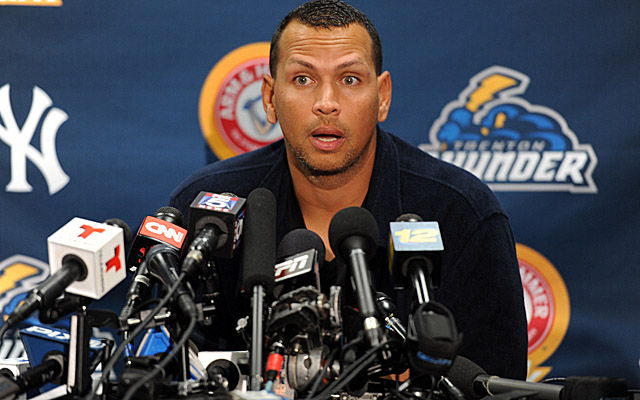 Alex Rodriguez is just one of at least 13 players likely facing suspension Monday by Major League Baseball. (USATSI)