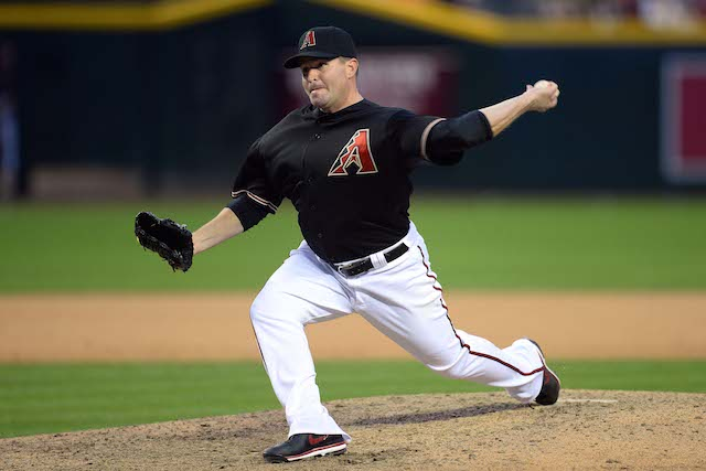 Joe Thatcher has been added to the bullpen mix in Anaheim. (USATSI)