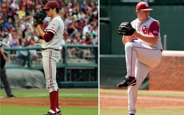 Mark Appel (left) and Jonathan Gray are the top two prospects in the entire draft.(USATSI)