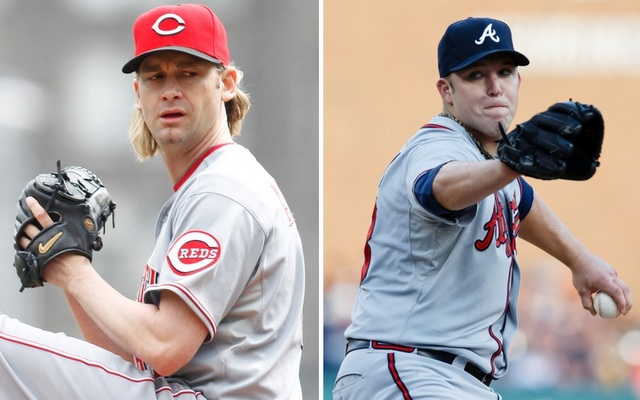 Could Bronson Arroyo (left) or Paul Maholm wind up with the Yankees if they whiff on Masahiro Tanaka?