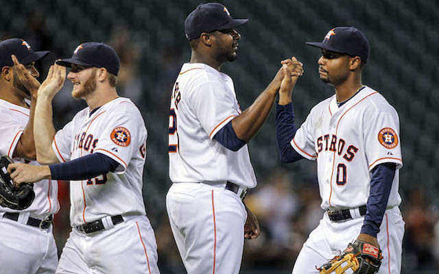 Did you watch the Astros beat the A's on Wednesday night? You were (almost) alone. (USATSI)