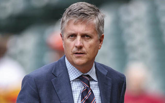 What's Astros GM Jeff Luhnow been talking about? Hacked internal documents give us an idea. (USATSI)