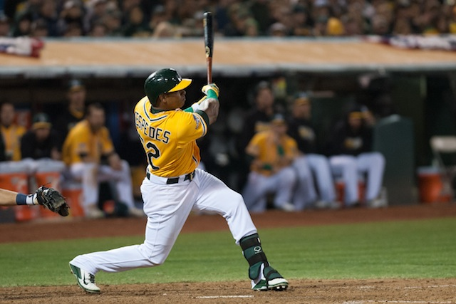 How many homers does Yoenis Cespedes have in him for 2014? (USATSI)