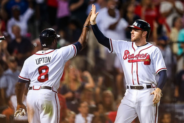 Is another NL East title in the cards for Justin Upton, Freddie Freeman and the Braves? (USATSI)