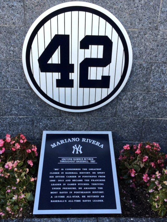 now among the likes of Babe Ruth, Lou Gehrig, Joe DiMaggio, Babe Ruth ... Babe Ruth Yankees