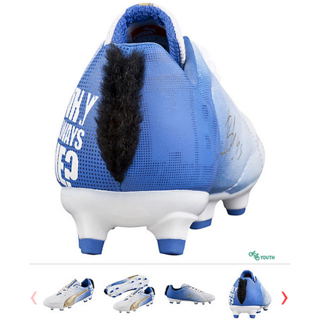 a6652b28e LOOK  Mario Balotelli launches new line of Puma cleats with mohawk ...