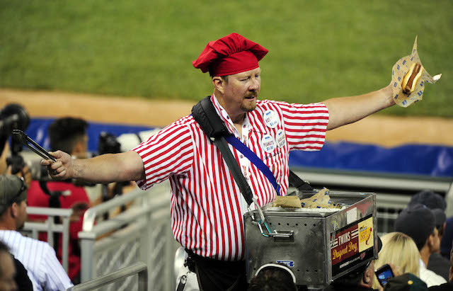 Is baseball dying? Hot Dog Guy thinks that's a ridiculous question. (USATSI)