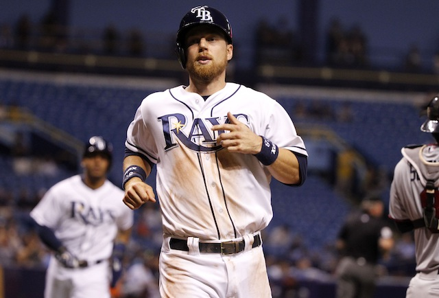 The Rays will be without second baseman Ben Zobrist for a while. (USATSI)