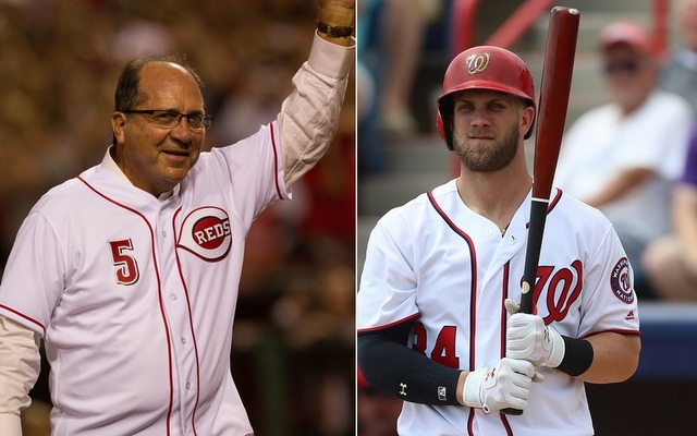 Johnny Bench called out Bryce Harper for his bat flips.