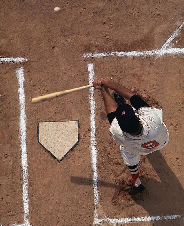 Photo Of The Day Ted Williams From Above Cbssports Com