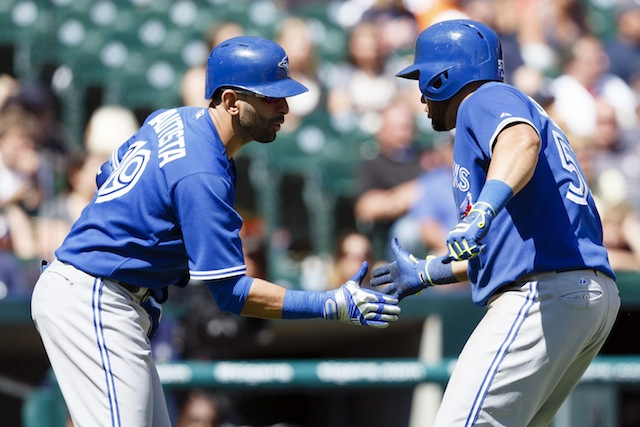 Can Jose Bautista (left), Melky Cabrera and rest of the Jays keep it going this weekend? (USATSI)