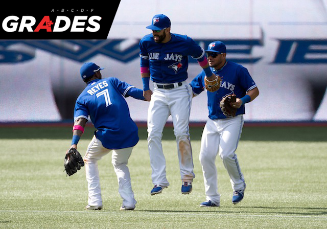 Jose Reyes, Jose Bautista, Melky Cabrera and the rest of the Jays earned high marks this week. (USATSI)