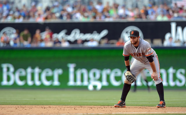 The Giants aren't sure when Brandon Belt will be back on the field. (USATSI)