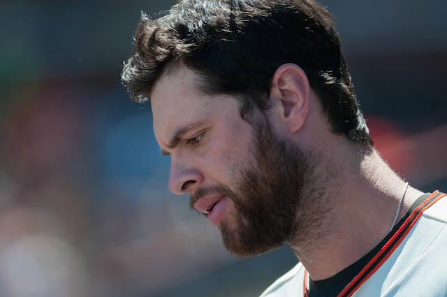 Brandon Belt is unfortunately headed back to the disabled list. (USATSI)