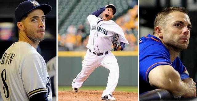 Ryan Braun (left), Felix Hernandez (center), and David Wright are three of baseball's best, but they're stuck on bad teams. (USATSI)