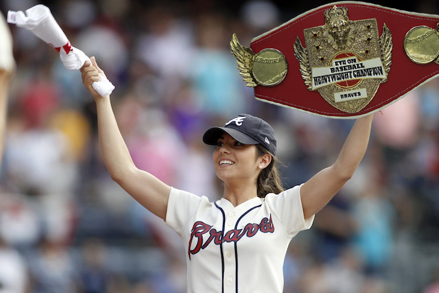 Recognize: There's a new Eye On Baseball Heavyweight Champion. (USATSI)