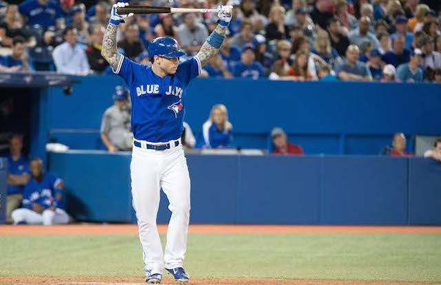 You'll see no more of Brett Lawrie in Toronto this season. (USATSI)