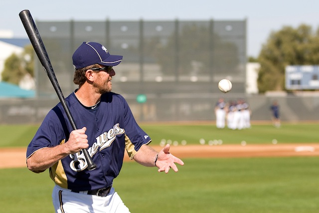 It's the Brewers' all-time single-season team, and that means Robin Yount will now report for duty. (USATSI)