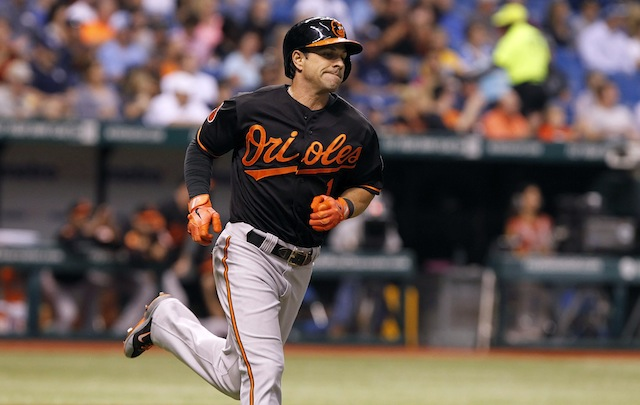 Will Orioles lifer Brian Roberts wind up in pinstripes? (USATSI)