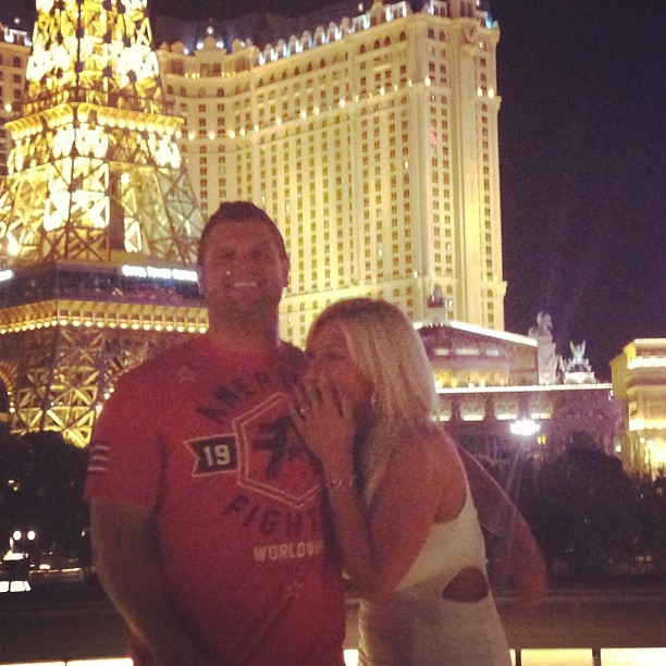 Cowboys center Phil Costa will tie the knot with Brooke Hogan.