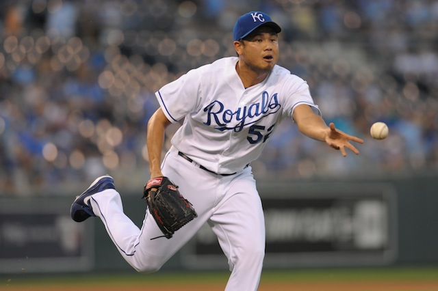 Bruce Chen is headed back to KC. (USATSI)