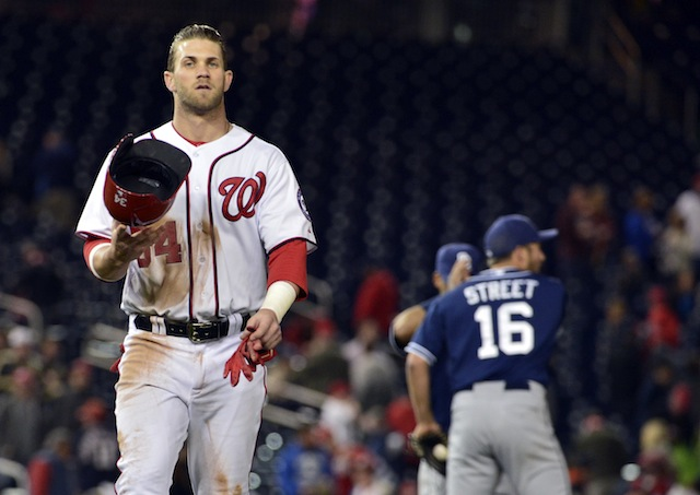 Is Bryce Harper really the disappointment he's made out to be? (USATSI)