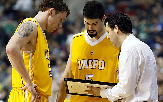 Bryce Drew made a name for himself playing for Valpo, and now he's building the program as a coach. (USATSI)