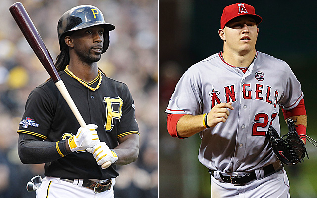 The perfect center fielder definitely contains part of McCutchen and Trout.