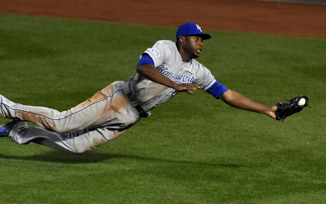 Lorenzo Cain won the ALCS MVP with offense and defense.
