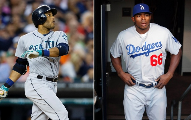 Robinson Cano (l.) and Yasiel Puig will play in the All-Star Series in Japan in November.