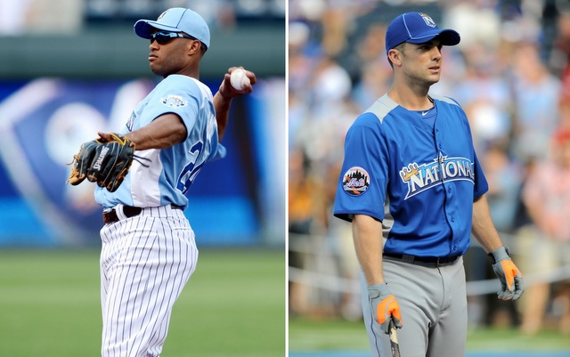 Robinson Cano (left) and David Wright will participate in this year's Home Run Derby. (USATSI)