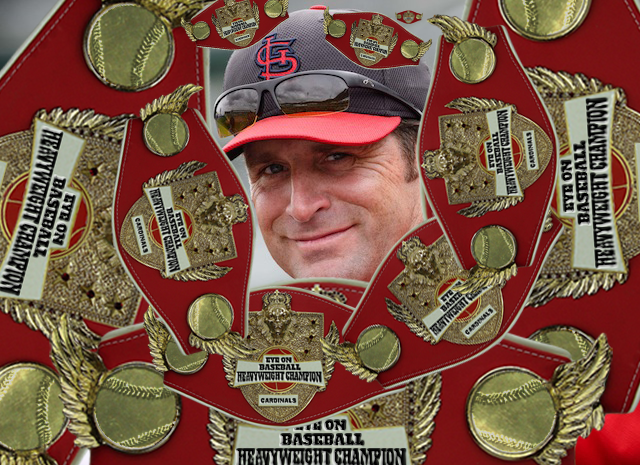 The Eye On Baseball Heavyweight Championship: Back where it belongs. (USATSI)