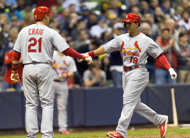 Unfortunately for the Cardinals, Allen Craig and Jon Jay haven't been doing the job in the outfield. (USATSI)