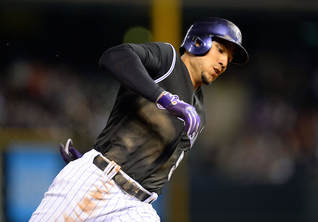 Carlos Gonzalez is back on the DL for the Rockies. (USATSI)