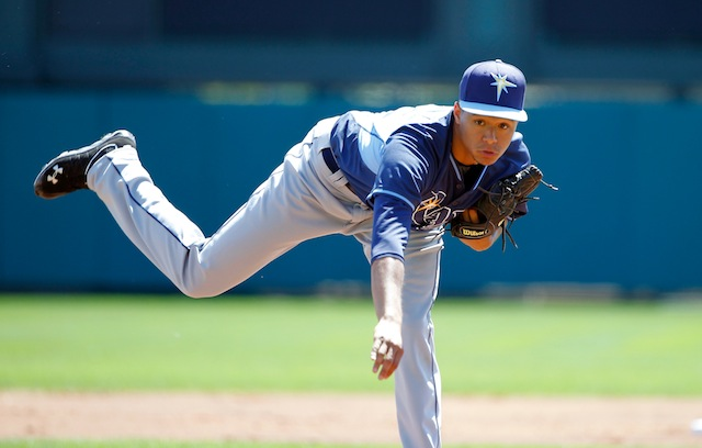 The Rays and Chris Archer have struck a multi-year deal. (USATSI)