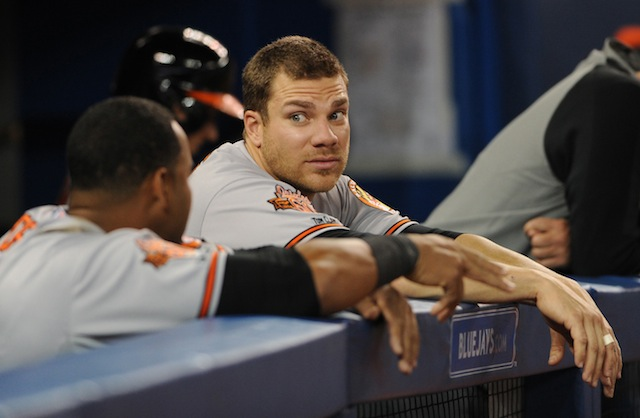 Chris Davis was surprised to learn that a DL trip is in order. (USATSI)