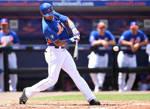 Chris Young's Mets career is off to a bad start on the health front. (USATSI)
