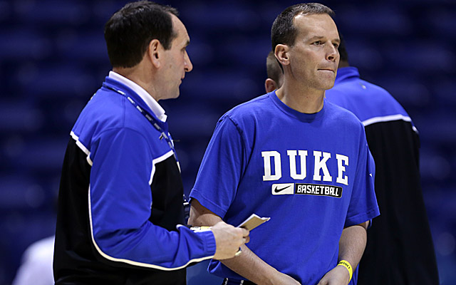 Chris Collins brings a rich pedigree to Northwestern, starting with his stint at Duke. (USATSI)