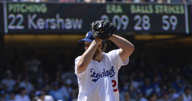 Can Clayton Kershaw keep his scoreless innings streak going? (USATSI)