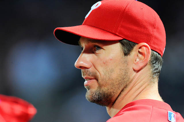 After re-injuring his elbow, Cliff Lee may not pitch again in 2014. (USATSI)