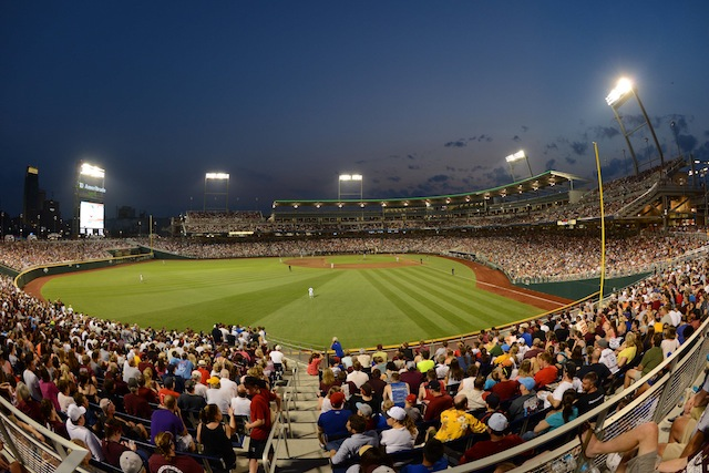 The SEC has a lot of teams with serious designs on Omaha. (USATSI)