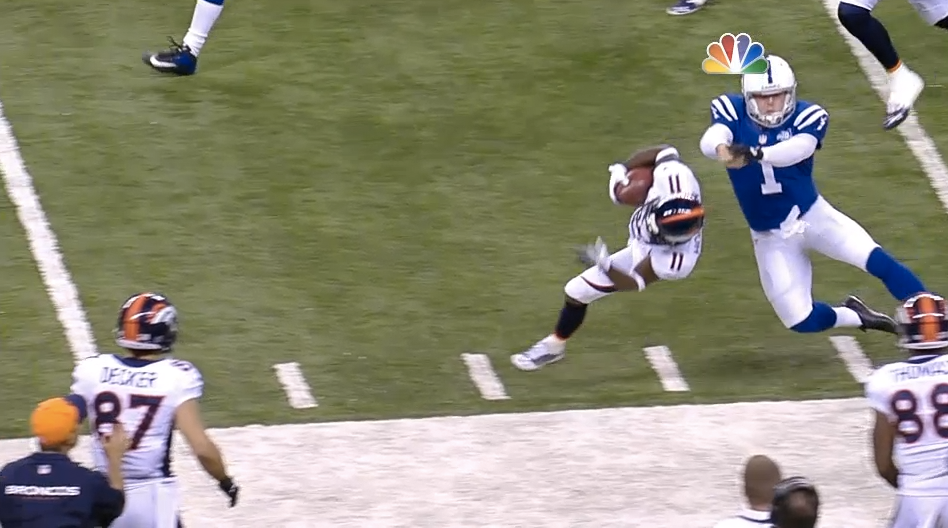 This is how all punters should hit.