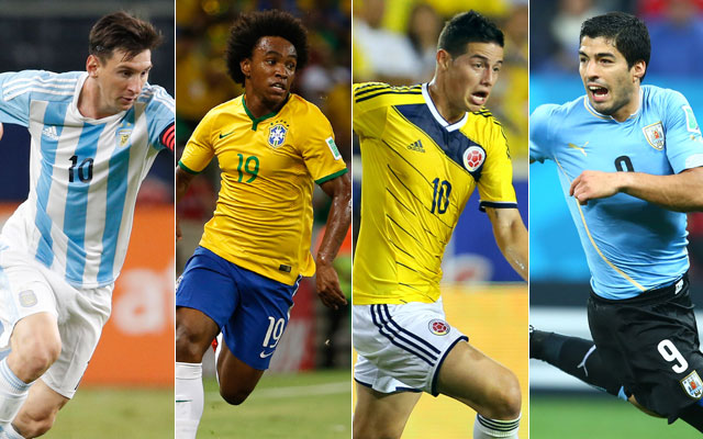 from messi to suarez 23 man rosters for all 16 copa america centenario teams cbssports com cbs sports