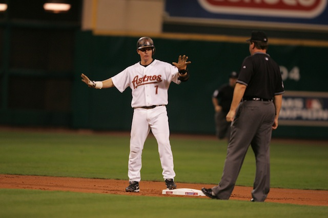 Running the bases and hitting for power? Few did it as well as Craig Biggio. (Getty Images)