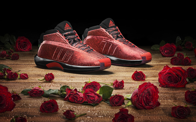 reputable site 2e084 c0560 The  Rose City Crazy 1 s  were the latest show from adidas for Damian  Lillard