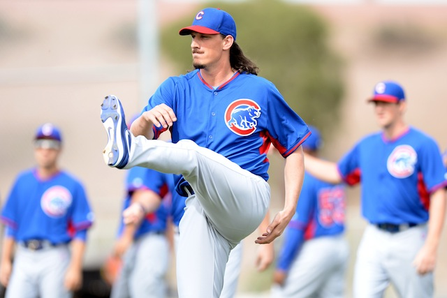 It's time for the Cubs to go long with Jeff Samardzija. (USATSI)