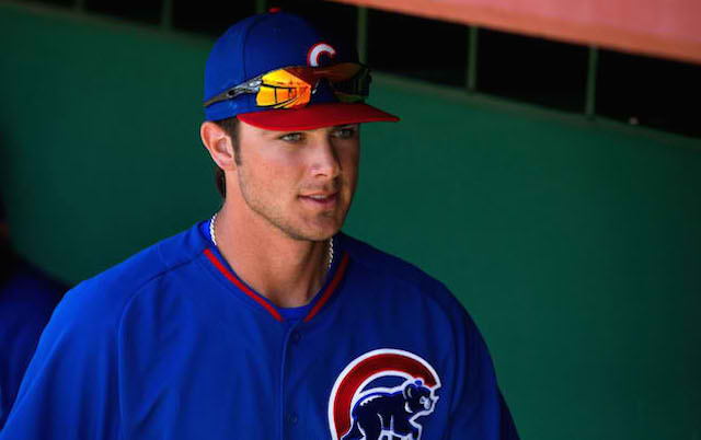 pretty nice 7538d 1b472 Cubs prospect Kris Bryant set for MRI on injured foot ...